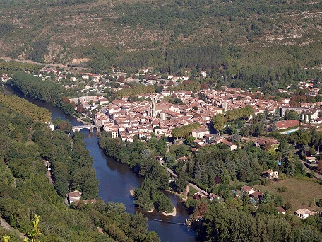 Le village de Saint-Antonin-Noble-Val